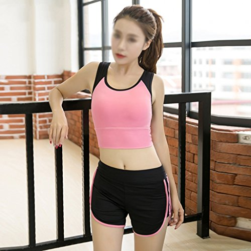 ZCJB Abbigliamento Yoga Abiti Estate Quick Dry Sexy Gilet Gilet Palestra Abbigliamento Sportivo Da Jogging Abbigliamento Fitness Donna ( Colore : STYLE4 , dimensioni : S. ) Style4
