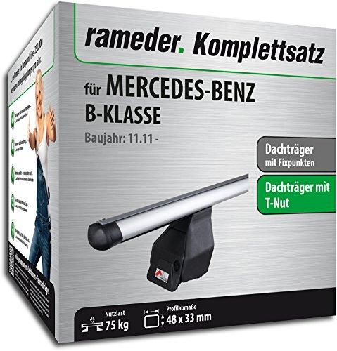 Rameder Komplettsatz, Dachträger Tema für Mercedes-Benz B-KLASSE (118877-09769-2)