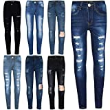 A2Z 4 Kids Kids Girls Skinny Jeans Designer's Denim Ripped Stretchy Jeggings Pants Fashion Trousers New Age 3 4 5 6 7 8 9 10 11 12 13 Years