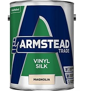 Armstead Trade Vinyl Silk Paint Magnolia 5 Litres