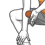 Blackroll Orange Selbstmassagerolle blackBALL-orange Selbstmassage-Ball, 12 cm, 8050090 - 4