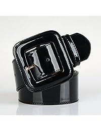 6571a0c70df0 NSSS Cuir vernis féministe large ceinture jupe décorée par le président de  large élastique ceintures en cuir ceinture en…