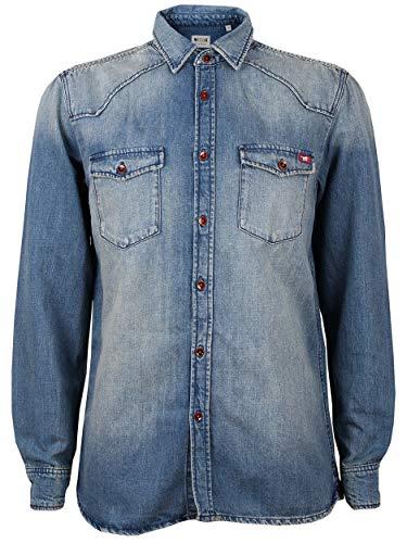 Mustang Herren Regular Fit Jeanshemd Jeans