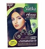 Henné marron pour cheveux Vatika