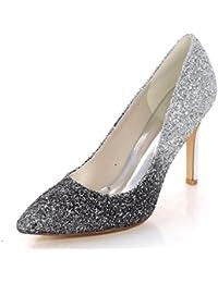 Marino es Mujer Zapatos Para Amazon Azul Sandalias 35 ntfzFFA