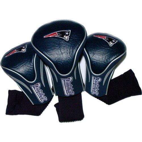 team-golf-31794-new-england-patriots-3er-pack-contour-fit-headcover