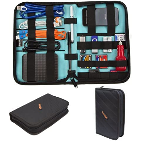 ButterFox Universal Electronics Accessories Travel Organiser / Hard Drive Case / Cable organiser - Medium