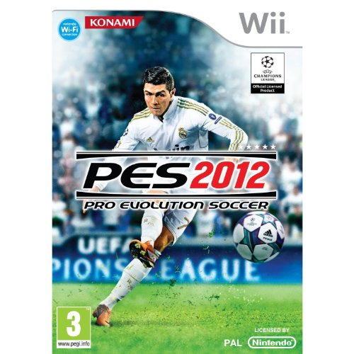 Juego Pro evolution soccer 2012 (Wii)