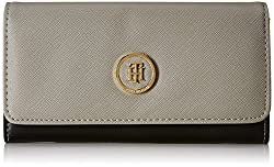 Tommy Hilfiger Maple Womens Wallet (Grey and Black)