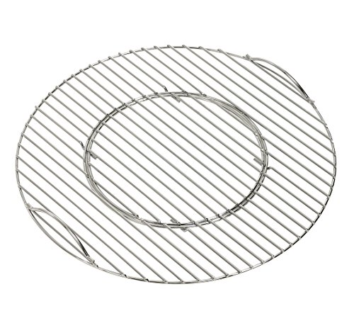 Dehner Grillrost für Kugelgrill, Ø 55 cm, Stahl