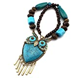 Best Four Piece Necklace - Bold N Elegant Wood Brass Beads Fashion Statement Review
