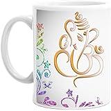 Happy Diwali Coffee Mug | CARAMIC Coffee Mug. 350ML Perfect For Gifting | Unique & Cute Coffee Mug Gift