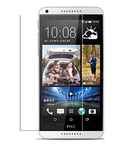 Cellphonez® PE + EYE CARE 0.25mm HTC Desire 816 Tempered Glass Screen Protector.  available at amazon for Rs.120