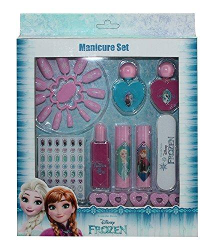 Frozen - Set de manicura con uñas postizas (Jugavi)