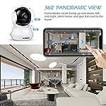 Telecamera-Wi-Fi-Interno-FHD-3MP-SriHome-Telecamera-IP-Senza-Fili-di-Sicurezza-Domestica-HD-Wifi-con-Visione-Notturna-PanTiltMonitor-di-Sorveglianza-Interna-per-Animali-Domestici-Bambini