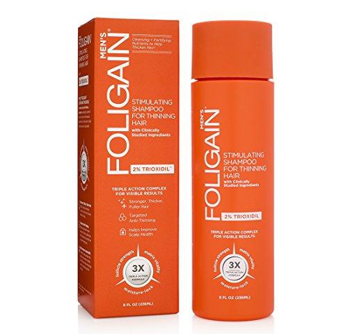 Foligain® Männer Anti-Haarausfall Shampoo 2{d5a58774c37fb7c49b11cc0d5516d9811fef5dab5cf723a3ccd6dcbcdbcec8ac} Trioxidil