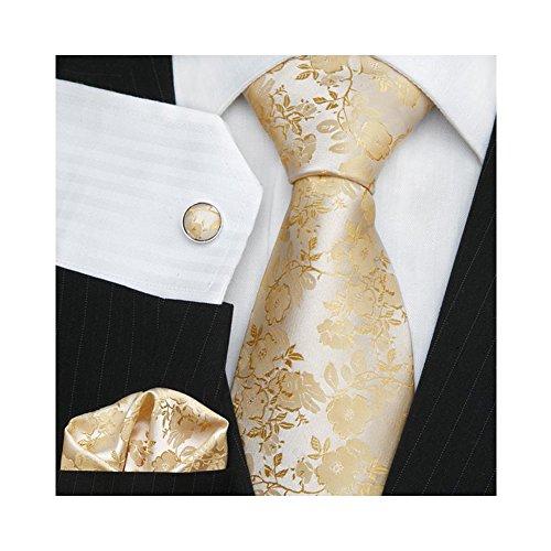 tns-gold-floral-paisley-ties-set-cufflinks-hanky