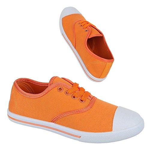 Ital-Design, Sneaker donna Arancione (arancione)