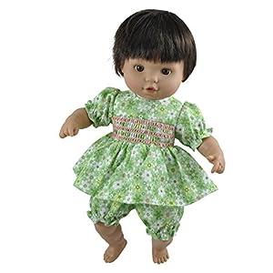 SKRÅLLAN 16-8013-00Julia Suave Cuerpo muñeca, 36cm
