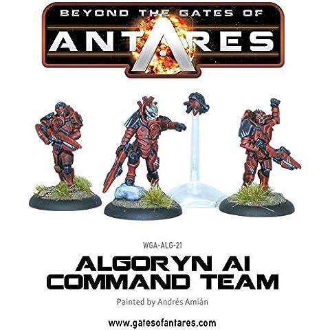 Puertas de Antares Algoryn - comando del equipo