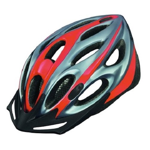Abus Fahrradhelm Raxtor - Casco de ciclismo multiuso (de 51 a 55 cm), color rojo, talla DE: 54-58 cm