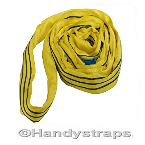 Price comparison product image 4 Metre x 3 Tonne Endless Round Tested Lifting Sling (2m EWL)