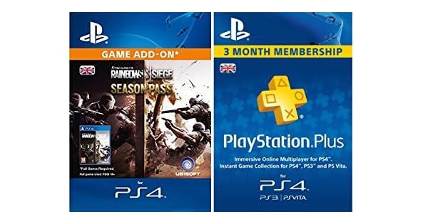 Tom Clancy's Rainbow Six Siege Season Pass + PlayStation Plus 3