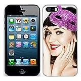 Katy Perry Coque pour iphone 5S - 10 Coque rigide de protection pour apple iphone 5 s