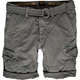 PME Legend leinwand-Shorts mit gürtel Größe W28