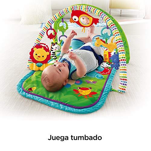 manta de juego bebé Fisher-Price Gimnasio musical animalitos de la selva Mattel CHP85