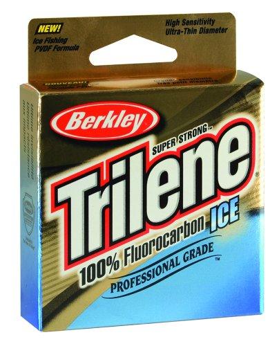 Trilene Ice Angelschnur, 100% Fluorocarbon, Unisex-Erwachsene, Fishing Gear, Clear-75-Yard/5-Pound, 5lb | 2.2kg, 75yd | 68m