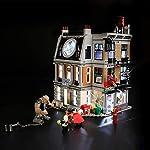 Dittzz Acrilico Vetrina, Antipolvere Display Case per Lego Technic Bugatti Chiron 42083 (Il Modello Lego Non Include)  LEGO