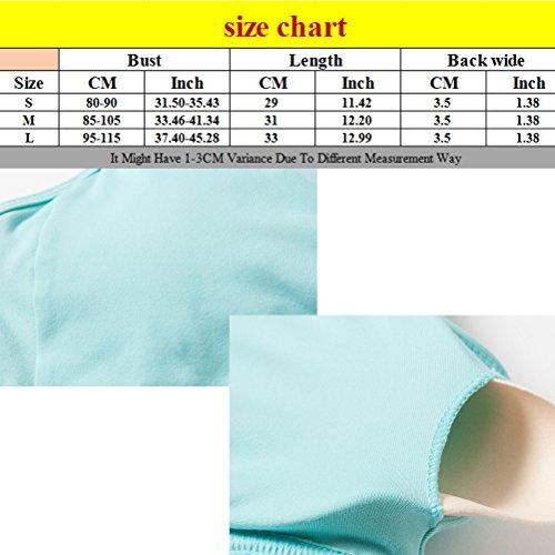 Zhhlaixing Hot Sell Women's Yoga Gli sport Bra Quick-drying Running Vest Underwear Dark Blue