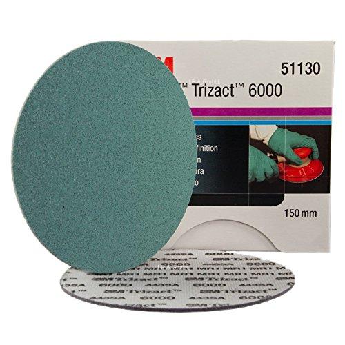 Preisvergleich Produktbild 3 M Hookit Trizact Mahlgrades dünn P6000 Rollen Ø 150 mm
