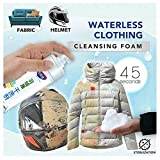 Magic Natural Stain Remover Foam Spray, Fabric Pre-Wash Spray, Down Jacket Wash-Free Waterless Clothing Spray, Powerful All-Purpose Stain Remover Spray for Clothing, Shoes, Sofas, Helmet (180ml)