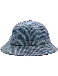 40c7ceeaa23ce JEDAGX Unisex Bucket Hat Breathable Sun Hat Cotton Stripes Fisherman Hat UV  Protection Cap for Holidays