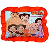 Funny Teddy Small Baby Cushion/ Pillow For Kids With Cartoon Character | Soft Stuffed Toy Folds To Decorative Piece | Birthday Gift Item(random Cloth Color) (chota2)