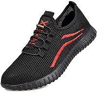 SUADEEX veiligheidsschoenen heren dames werkschoenen S3 licht sportief ademend beschermende schoenen stalen kap sneaker