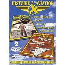 Coffret histoire de l'aviation 2 DVD : histoire de l'aviation / génération spatiale
