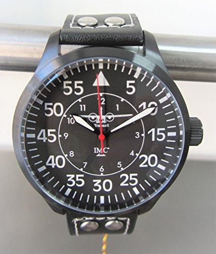 C-160 Transall Aviator schwarz Armbanduhr - Sonderedition - limitierte Auflage