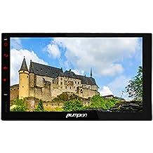 Pumpkin 7 Pulgadas 2 Din Android 5.1 Lollipop Quad Core 1080P HD Auto Radio de Coche con GPS Navegador Multimedia con Parrot Bluetooth