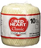 Red Heart Classic Crochet Thread Size 10...