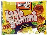 nimm2 Lachgummi – Spaßiges Fruchtgummi mit Vitaminen – 18er Pack (18 x 200g)