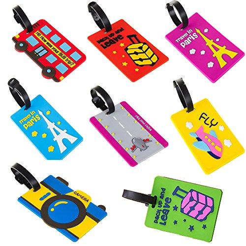 Fiting Travel Gepäck Tags Etiketten Koffer Gepäck Tasche Tags Etiketten, ID Tasche Tags Etiketten Fluggesellschaften Gepäck Etiketten