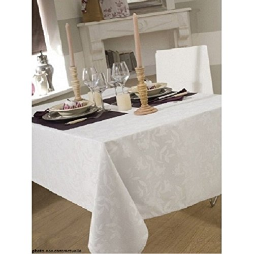 CALITEX Nappe DAMASSEE Ombra Blanc 150X300