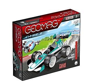 Geomag- Wheels Juguete, Color Verde, 25 Piezas (711)