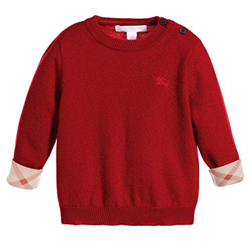 Burberry Herren T-shirts (Burberry–Strickpullover 12 mesi rot)