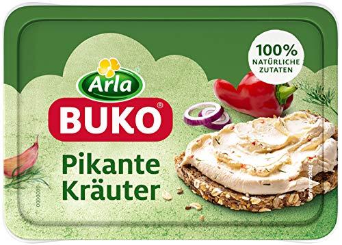 Arla BUKO Der pikante Kräuter-Frischkäse mit roter Paprika, 10er Pack (10 x 200 g)