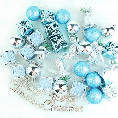 Lkklily-christmas Árbol Adornos 32vestidos azul