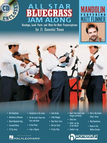 All Star Bluegrass Jam Along: For Mandolin (Jam Along Book & CD)